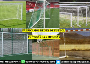 Arcos y redes de futbol toda medida