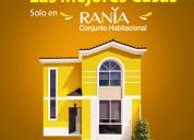 Casa de 106m2 -manta- conjunto habitacional rania