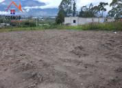 Venta de terreno en chaltura sector la pradera