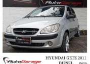 Hyundai getz 3p 1 5 turbo diesel crdi 2011 195200 kms