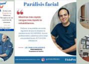 Rehabilitación fisica para parálisis facial