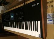 Estación de trabajo musical con teclado korg krono