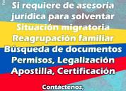 Certificación de antecedentes apostillados vzla