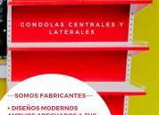 Góndolas laterales - centrales.