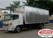 Se vende furgones nuevos y usados de 5,60 mts