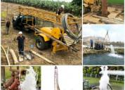 Perforaciones de pozos profundos de agua