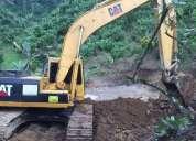 Excavadora caterpillar