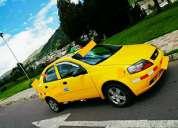 Vendo taxi con puesto al sur de quito