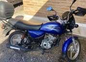 Vendo moto boxer seminueva