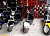 Scooters electricos.