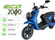 Vendo motocicleta electrica eco 2000