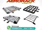 Parrillas aerorack 100 aluminio, oportunidad.