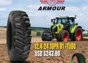 Llantas armour para tractor agricola, contactarse.