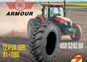 Llantas agricola 12 4 24, contactarse