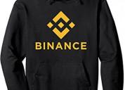 Buzo con capucha personalizado bitcoin criptomoned