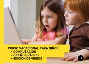 Curso vacacional para niños en sangolquí