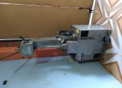 Máquinas para fabricación y reparación de calzado