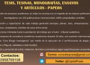 Asistencia en ensayos, casos y tesis!!!