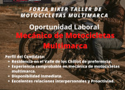 Oferta laboral mecanico de motocicletas multimarca