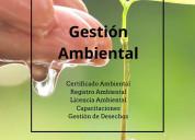 Certificados registro licencia ambiental