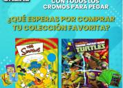 Colecciones completas simpsons & tortugas ninja