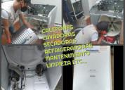 Reparacion lavadoras calefones domicilio0992887755