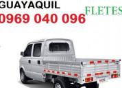 Flete guayaquil camioneta  pequeÑas mudanzas 09682