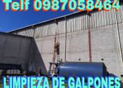 Limpieza de pergolas y techos telef 0992448828