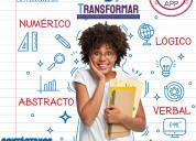 Curso para el ingreso a la universidad transformar