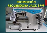 Recubridora industrial jack nueva
