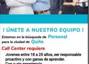 Call center vacantes disponibles