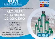 Alquiler de tanques de oxigeno en el guayas