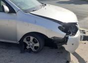 Elantra chocado auto