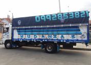Servicios de mudanzas camiones grandes