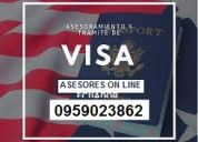 Asesoria y gestión de visas