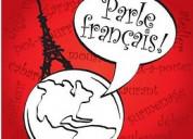 Curso de idioma francés con profesor nativo