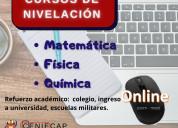 Cursos de fÍsica-quÍmica-matemÁtica