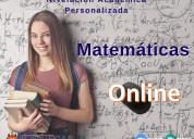 Clases de matematica online
