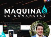 Curso maquinas de ganancias de trading school