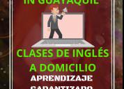 Clases y  cursos de inglés guayaquil samborondón