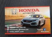 Honda repuestos para carro