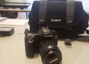 Camara canon eos 80d