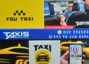 Servicio 2/7 taxis aeropuerto
