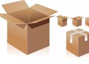 Cajas de cartón corrugado en cualquier dimensión.