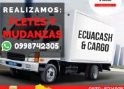 Fletes y mudanzas - transporte de carga