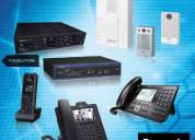 Central telefonica y accesorios panasonic,yeastar