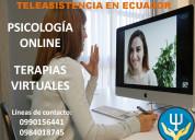 PsicologÍa online - terapias virtuales
