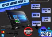 Oferta por el mes de octubre laptops $309+i compud