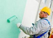 Se realiza todo tipo de trabajo en pintura casas
