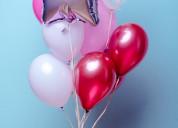 Globos con helio desde $0.99 colores surtidos